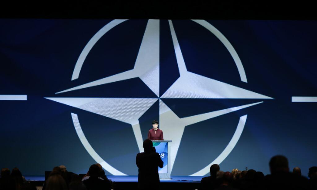 Mer dialog: Utenriksminister Ine Eriksen Søreide bør få med NATO på en mindre konfliktfylt linje mot Russland. Foto: Lise Åserud / NTB scanpix