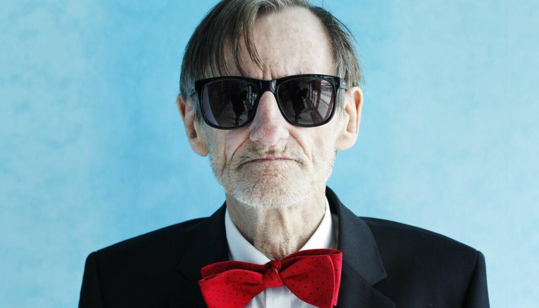 KUNSTNERSJEL: Terje Brofos aka Pushwagner gikk bort 24. april 2018. Han ble 77 år. FOTO: NTB Scanpix