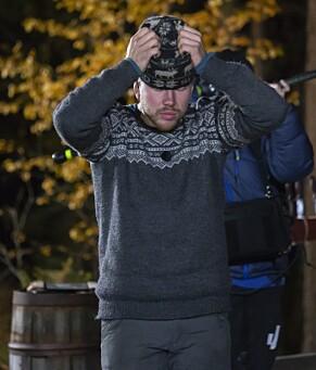 DET AVGJØRENDE ØYEBLIKKET: Kjetil Nørstebø tar seg til hodet idet konkurrenten utropes som vinner. Så forsvinner han. Foto: Tore Skaar