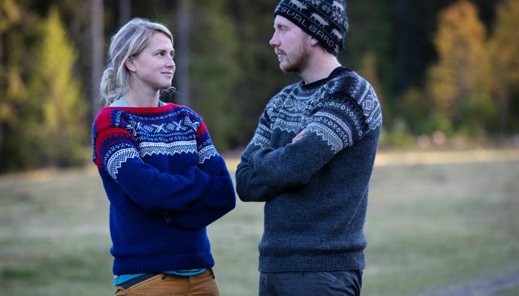 <strong>IKKE VENNER:</strong> Tonje Frøystad Garvik og Kjetil Nørstebø utviklet et godt vennskap på gården. I dag er de ikke venner. De er fortsatt totalt uenige i hva som egentlig skjedde under «Farmen»-finalen. Foto: Tore Skaar