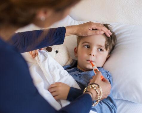 image: Forkjølet barn: Når skal du oppsøke lege?