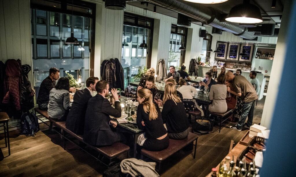 GODT BESØKT: Girotondo på Youngstorget har blitt så populær at de måtte begynne med bordreservasjoner. Foto: Christian Roth Christensen
