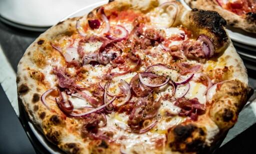 PIZZA PÅ ALVOR: De tar pizza på alvor på Girotondo.