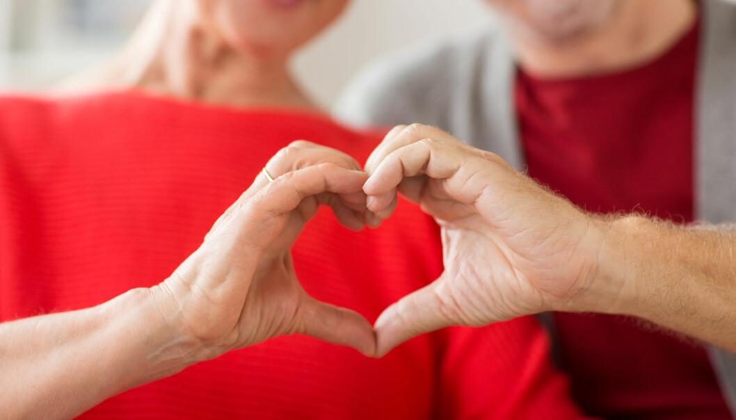 <strong>HJERTEHELSE:</strong> Det som er god hjernehelse er også god hjertehelse, ifølge ekspertene. Foto: Shutterstock.