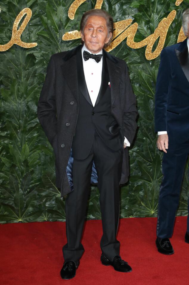 BRITISH FASHION AWARDS: Valentino. Foto: NTB Scanpix