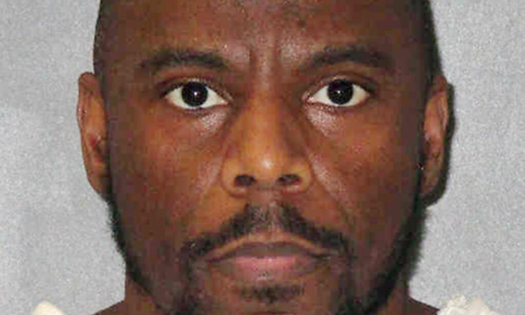 HENRETTET: Alvin Braziel ble i natt henrettet i Texas for et drap han begikk for 25 år siden. Foto: Texas Department of Criminal Justice via AP, File
