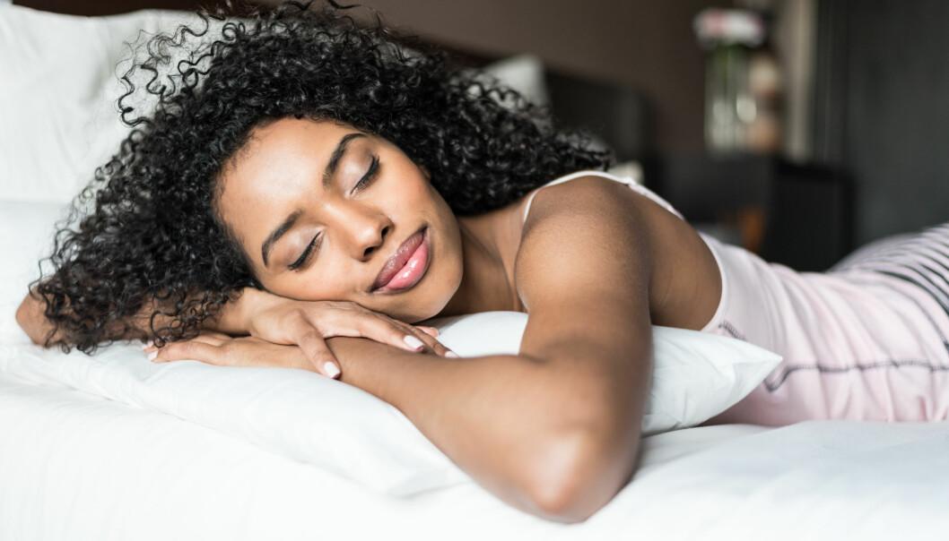 SØVN: Visste du at du kan stille inn hjernen og kroppen slik at du våkner uten vekkerklokke? FOTO: NTB Scanpix