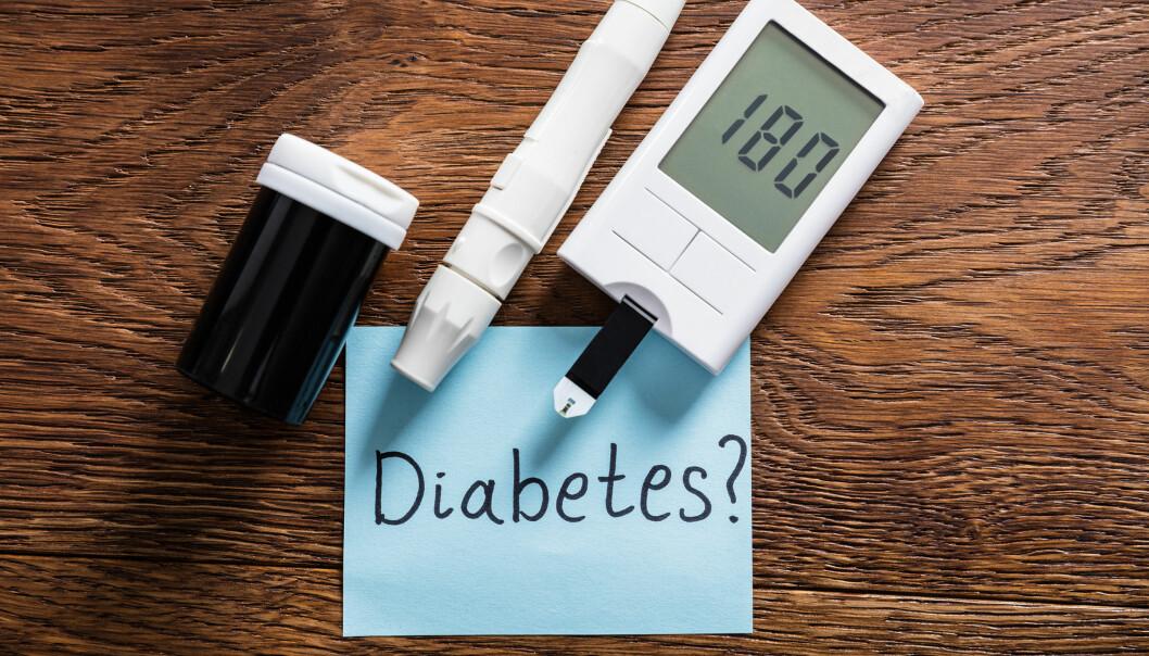 <strong>MÅL BLODSUKKERET:</strong> Diabetes øker risikoen for hjerte- og karsykdommer, og bør derfor oppdages tidlig. Foto: Shutterstock