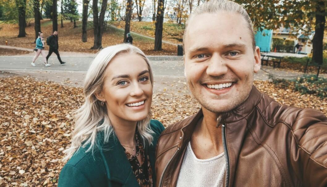 <strong>FLYTTER:</strong> Andrea og Morten flytter sammen til Kristiansand neste år. Akkurat når de blir samboere har de foreløpig ikke bestemt. Foto: Privat