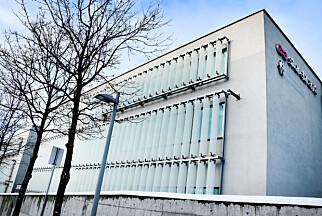 De gigantiske lokalene til Storebrand på Lysaker. 📸: Ole Petter Baugerød Stokke