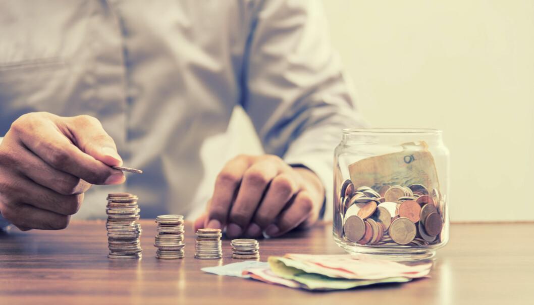 <strong>TRE DELER:</strong> Pensjonen din består av tre deler; Pensjon fra arbeidsgiver (tjenestepensjon), folketrygd (fra staten) og oppsparte midler. Foto: Shutterstock
