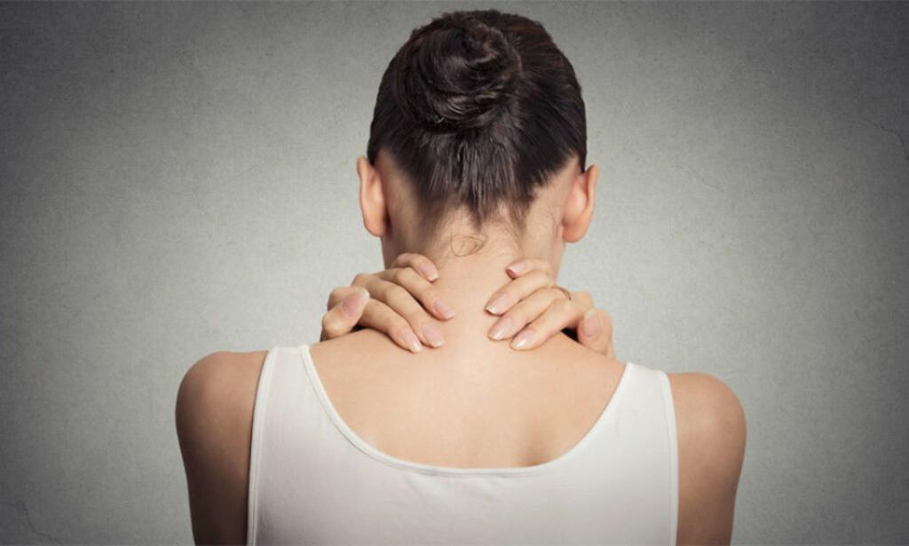 MUSKELSMERTER: Fibromyalgi kjennetegnes ved dype, brennende smerter flere steder i kroppen Foto: NTB Scanpix