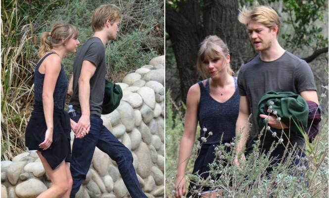 SVÆRT PRIVATE: Duoen lar seg sjelden bli tatt bilde av. Her er de på en spasertur i Malibu i California tidligere i år. Foto: NTB Scanpix