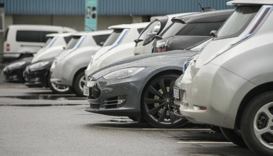 <strong>STOR INTERESSE:</strong> Interessen for brukte elbiler til salgs øker kraftig. Foto: NTB Scanpix