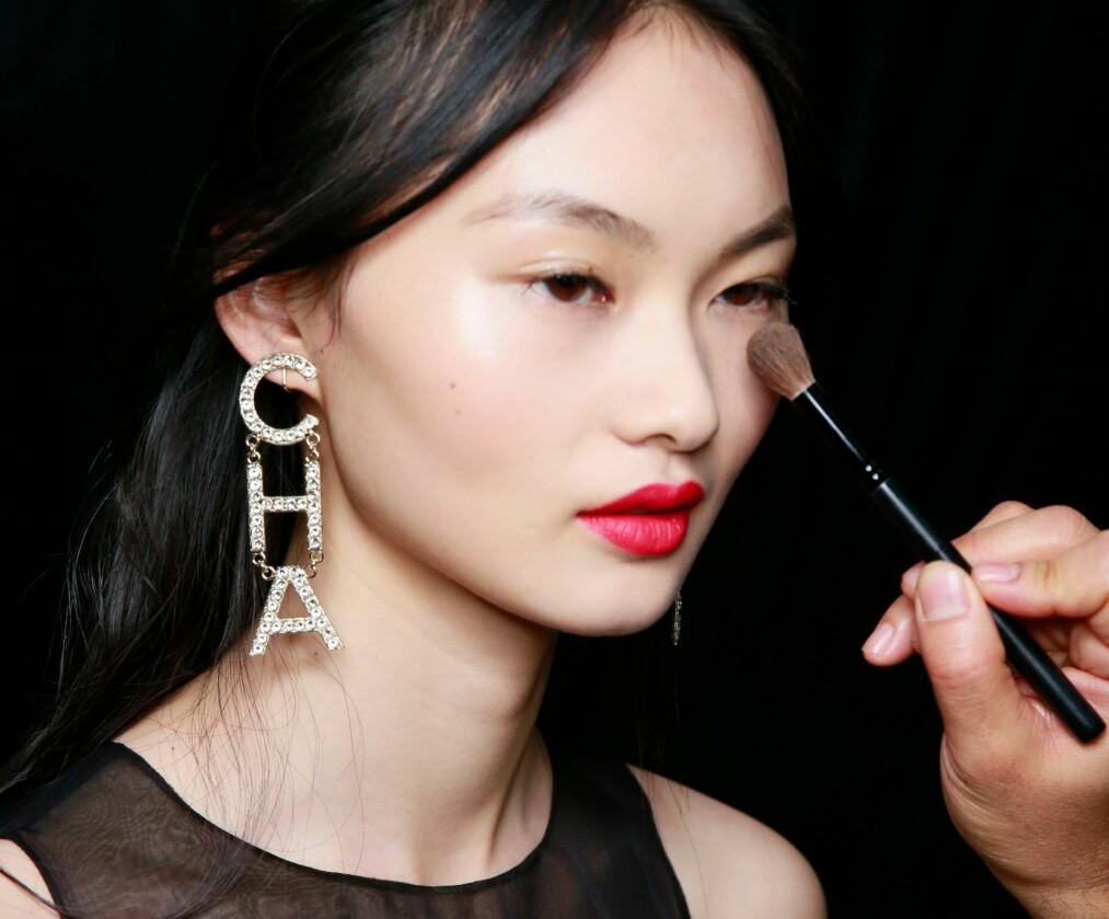 FESTSMINKE: Her kan du boltre deg i lekre leppestifter og nydelige øyeskygger. FOTO: NTB Scanpix