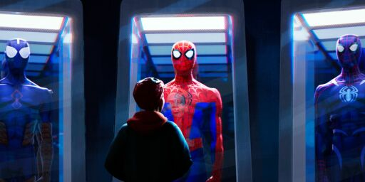 image: Rørende Spider-Man i leken tegnefilm