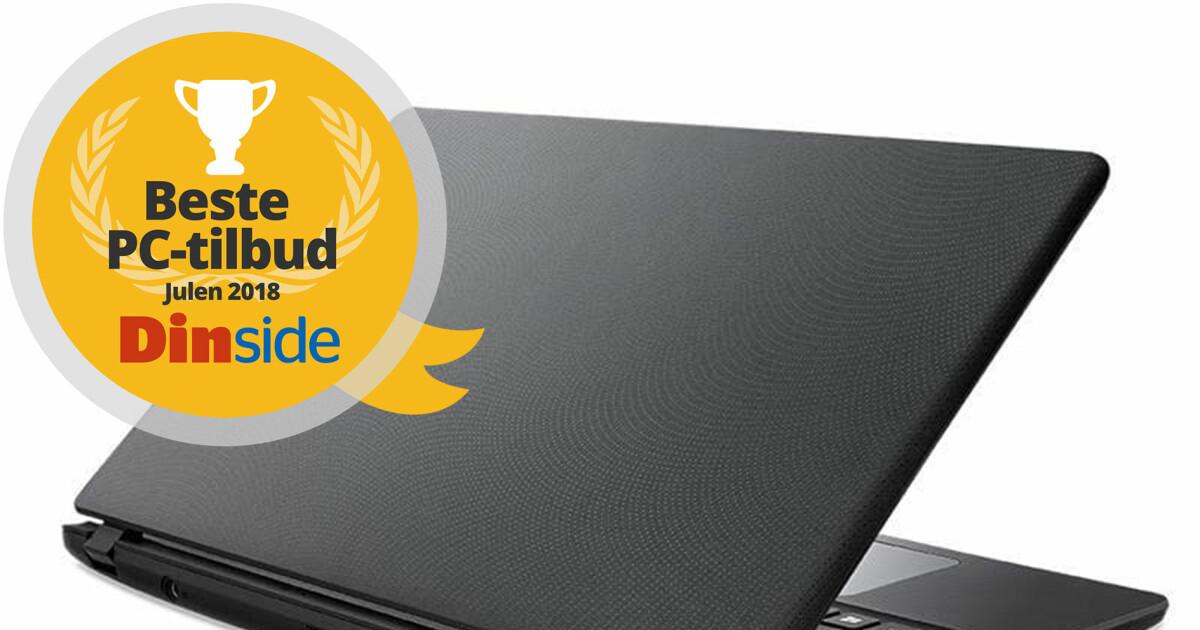 c6033416 Fem PC-er til under 4.000 kroner - De beste PC-tilbudene til jul 2018 -  DinSide