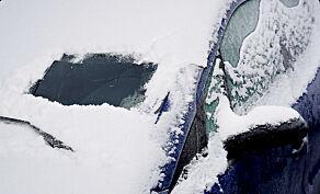 image: Lei av å skrape is og snø fra frontruta? Slik kan du unngå det