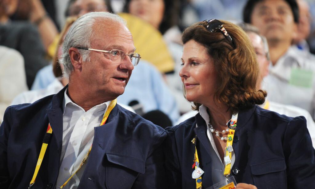 GIFT I 42 ÅR: Kong Carl Gustaf og dronning Silvia møttes for aller første gang i 1972. De giftet seg fire år etterpå. Foto: NTB Scanpix