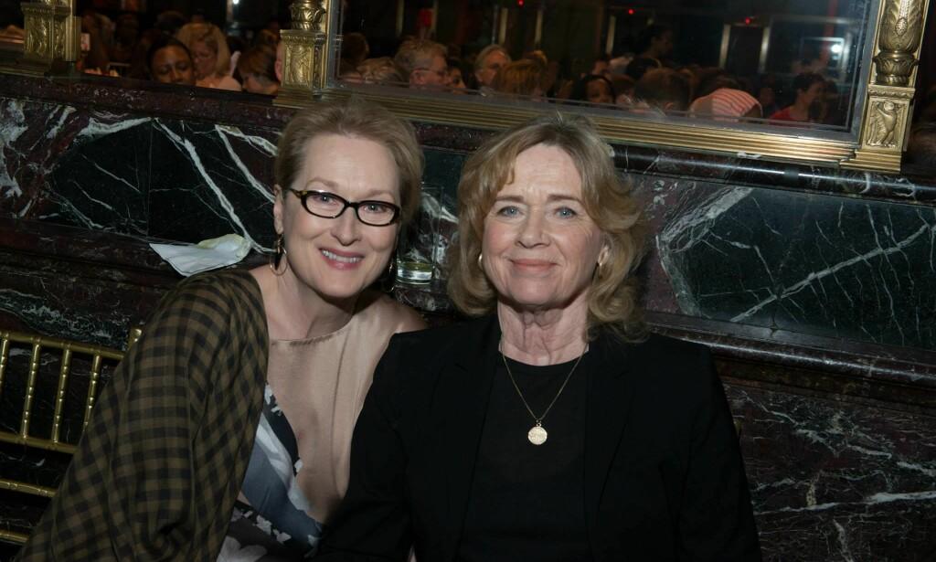 GODE STØTTESPILLERE: Meryl Streep og Liv Ullmann.