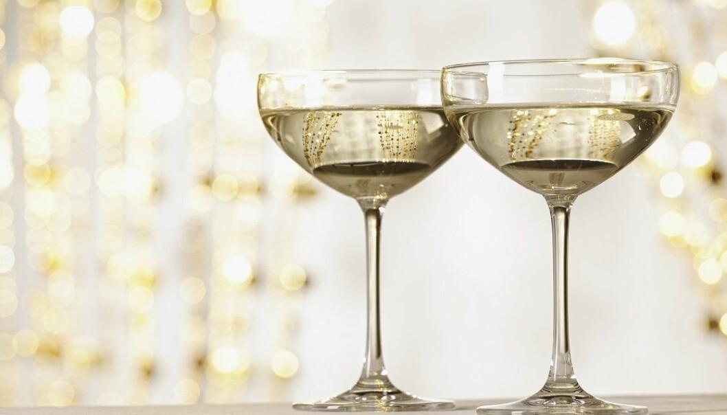 COUPE: Stilig og luksuriøst, men kanskje ikke optimalt for å smake champagnen. FOTO: NTB Scanpix