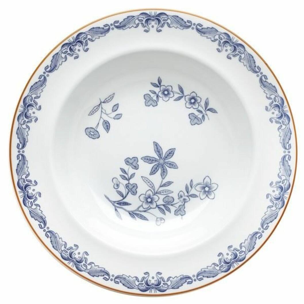 Talerken fra Rörstrand |237,-| https://royaldesign.no/ostindia-deep-plate#/4585