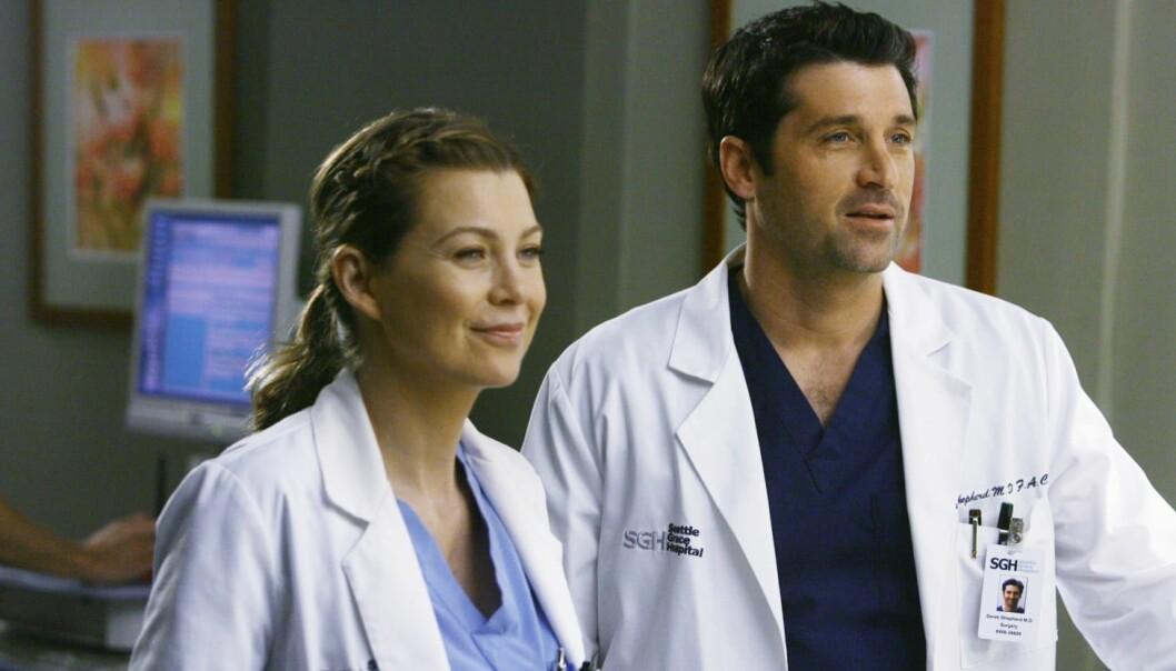 HAVNET I BILULYKKE: Derek «McDreamy» Shepard, ektemannen til hovedrollen Meredith Grey, er en av karakterene som har dødd tragisk i serien. FOTO: ABC