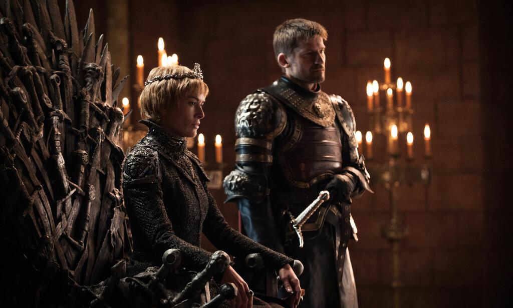 GODE SJANSER: Tvillingparet Cercei og Jaime Lannister har i følge forskningen gode muligheter for å overleve. Foto: HBO