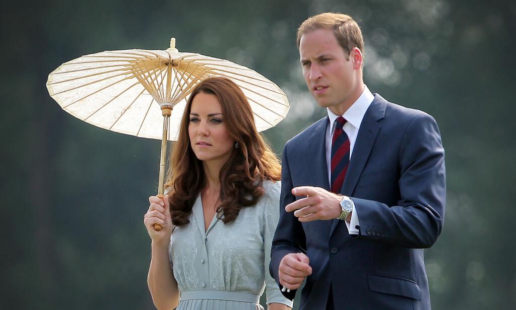 GIFT I SJU ÅR: Til tross for at det tilsynelatende ser ut til at hertuginne Kate og prins William er lykkelige i deres sju år lange ekteskap, har ikke kjærligheten mellom dem alltid vært like lett. Foto: NTB Scanpix