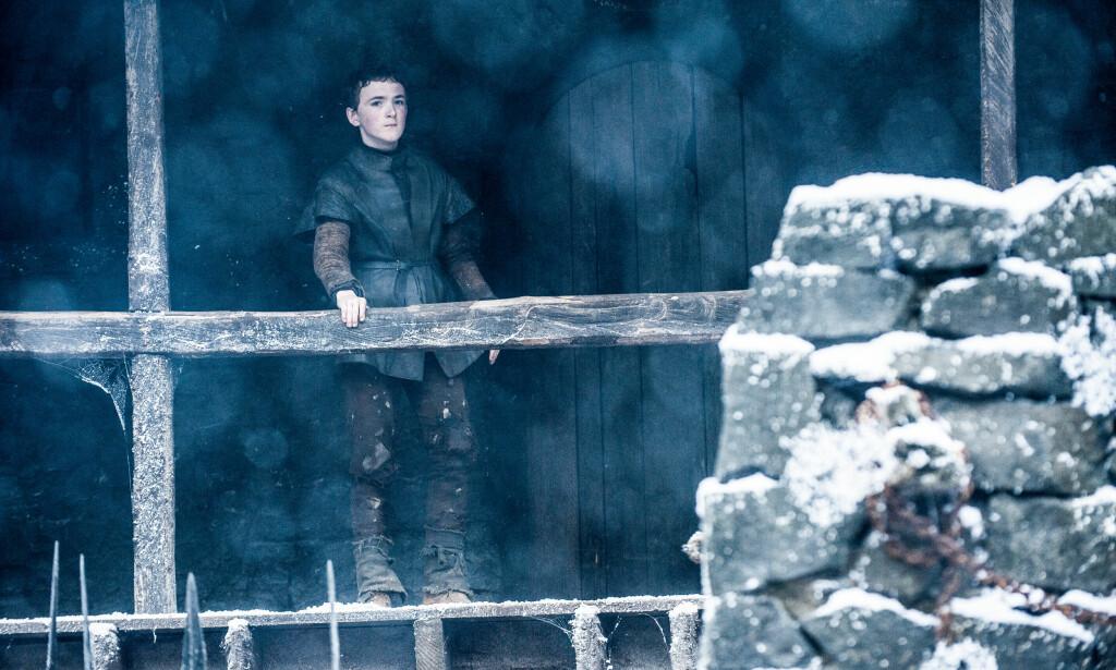 UPOPULÆR: Den unge gutten Olly ble svært upopulær etter at han var med på å ta livet av Jon Snow i sesong fire. Foto: HBO