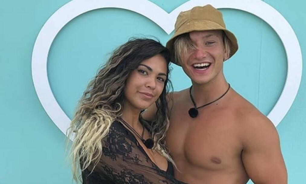 BRUDD: «Love Island»-finaleparet Bruna Camargo og Nicklas Andre Nikolaisen mistet følelsene for hverandre to uker etter innspillingen av TV-programmet. Foto: TV3