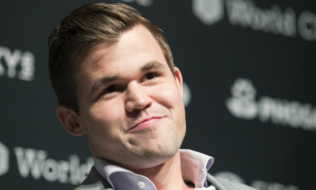 SLO TILBAKE: Magnus Carlsen er tilbake på vinnersporet. Foto: NTB Scanpix