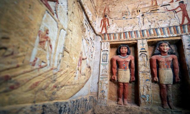 image: «Enestående» funn i Egypt: - Fargen er nesten intakt etter 4400 år