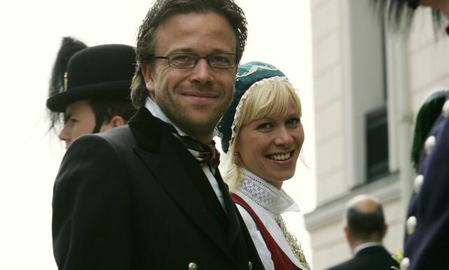 FORLOVET: Marian var sammen med Kåre Conradi i åtte år før de brøt forlovelsen i 2007. Her sammen i 2005 Foto: NTB Scanpix