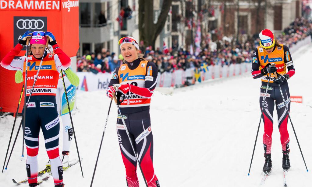 SLITER: I sprintlangrenn er det lite som fungerer for de norske skijentene. Årets sesongstart i sprint er historisk svak. Foto: Bildbyrån
