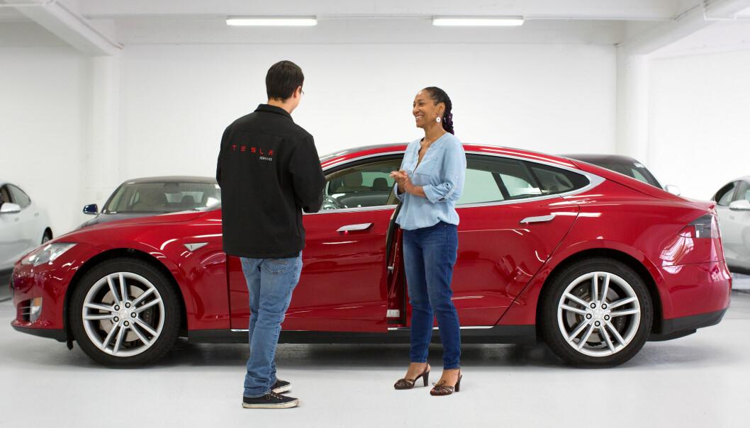 BESTSELGER: Tesla har flere ganger toppet salgslistene, ikke bare for elbiler, men totalt. Foto: Tesla