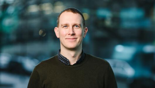 Erlend Lønnum, seniorrådgiver i Språkrådet. Foto: Moment Studio