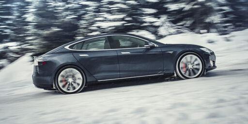 image: Tesla-oppdatering gir mer fart