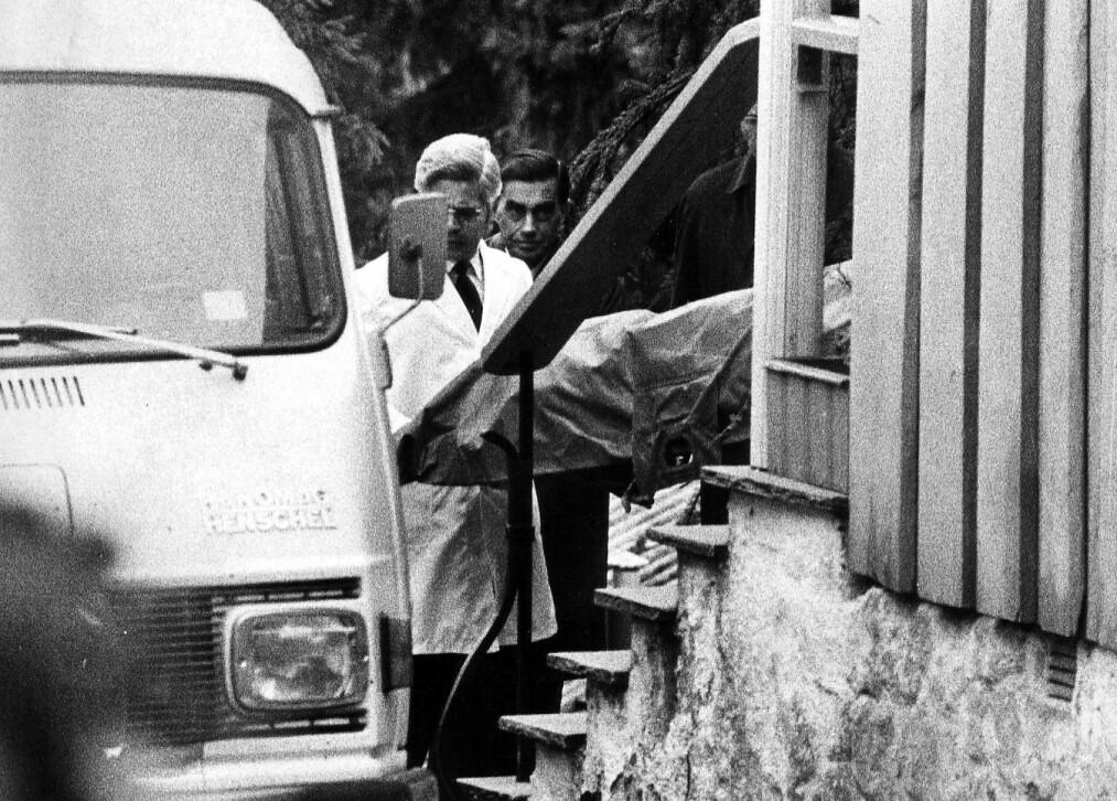 <strong>DREPT:</strong> Anni Nielsen Iranzo ble drept i sitt hjem i Dagaliveien 25 i Oslo, der hun bodde sammen med sin ektemann, den spanske dipomaten Enrique Iranzo. Foto: Odd H. Anthonsen / Dagbladet