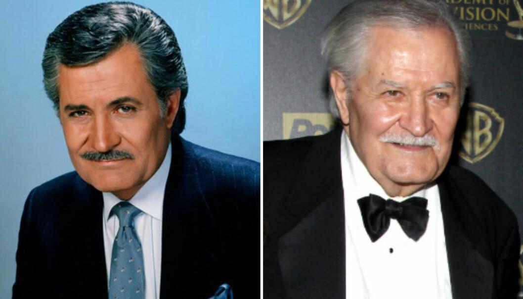 VETERAN: Du drar nok kjensel på Johns etternavn – ja, han er pappaen til Jennifer Aniston! Stjernen har spilt i «Gode og onde dager» siden 1985. FOTO: NBC / Scanpix