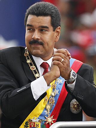 ET LAND I KRISE: President Nicolás Maduros regime får mye av skylden for den historiske krisen Venezuela befinner seg i. Foto: AP / NTB Scanpix.
