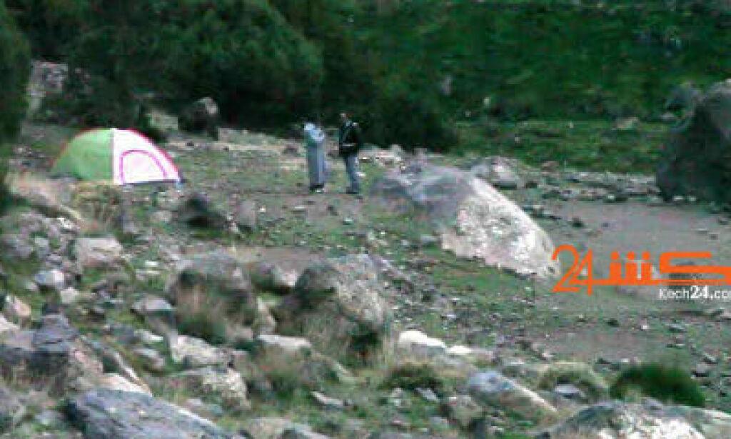 image: - Den arresterte glemte id-kortet sitt ved teltet