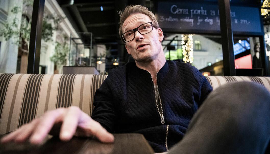 - OPPGITT: Ole Martin Årst forklarer at det var krevende å innse hvor tøff situasjon storesøstera var i. Selv har han vært svært engasjert i arbeid mot rus. Foto: Lars Eivind Bones / Dagbladet