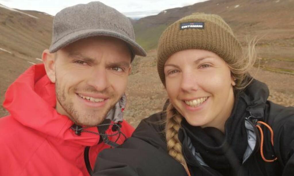 SISTE MINNE: Marius Fuglestad forteller at dette bildet er det siste minnet han har etter turen med Maren Ueland. Foto: Privat
