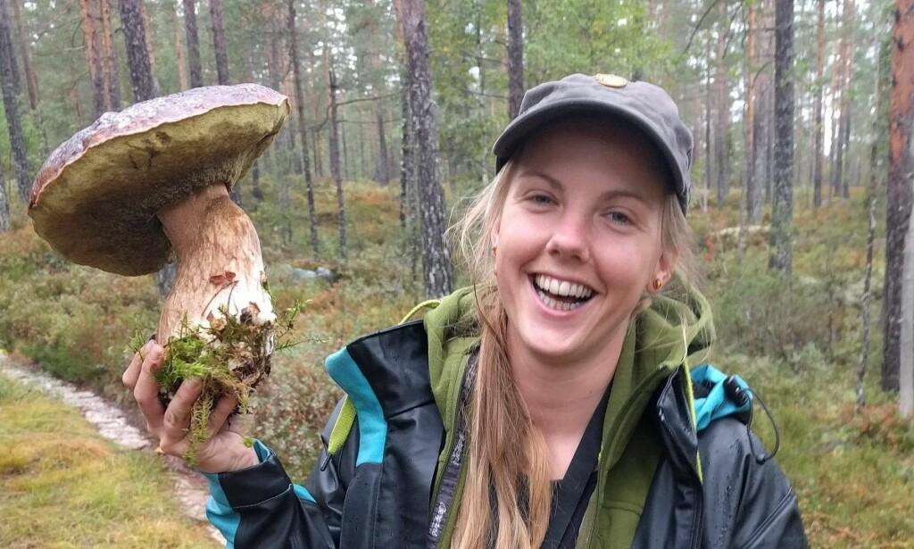 - GLAD I NATUR: Marius Fuglestad forteller at Maren Ueland var veldig glad i naturen. Bildet publiseres med tillatelse fra familien. Foto: Privat