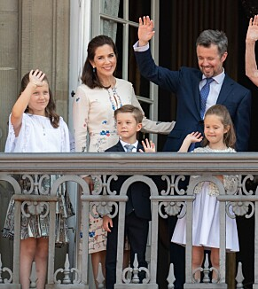 TRONARVING: Kronprins Frederik vil en dag ta over tronen fra sin mor dronning Margrethe. Kronprinsesse Mary skal stå svigermor svært nær. Foto: NTB Scanpix