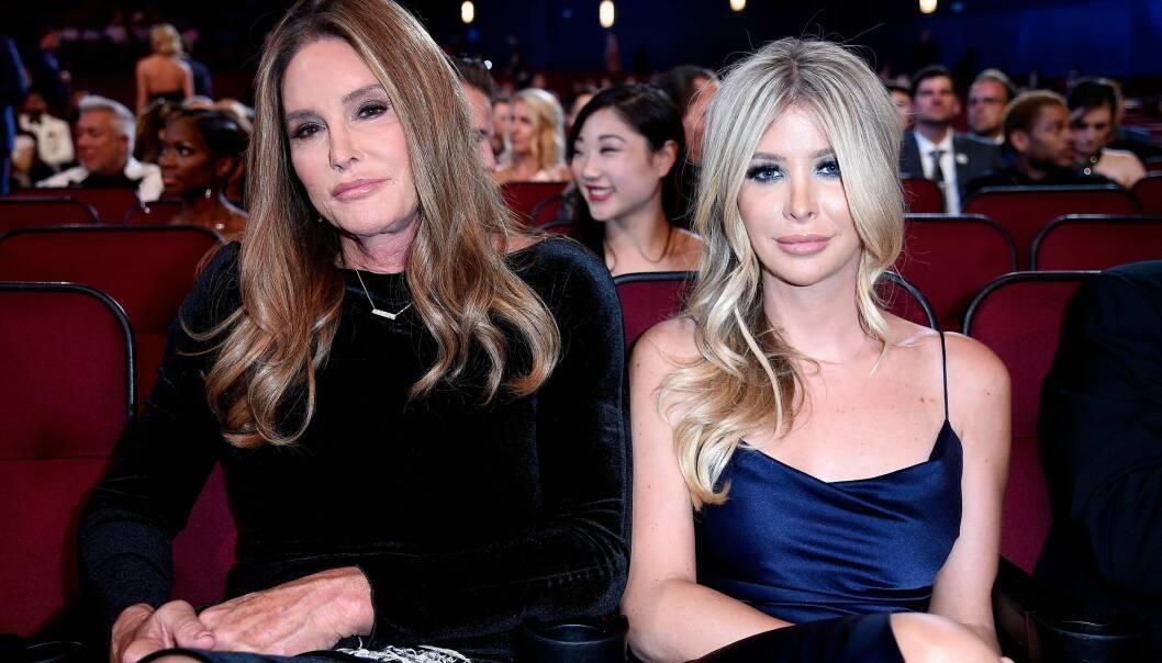 NY TILVÆRELSE?: Nå hevdes det at Caitlyn Jenner og hennes 46 år yngre kjæreste Sophia ønsker seg barn sammen. Etter planen skal de gifte seg til våren, og bli foreldre den påfølgende høsten. Det hevder ryktebørsen. Foto: NTB scanpix