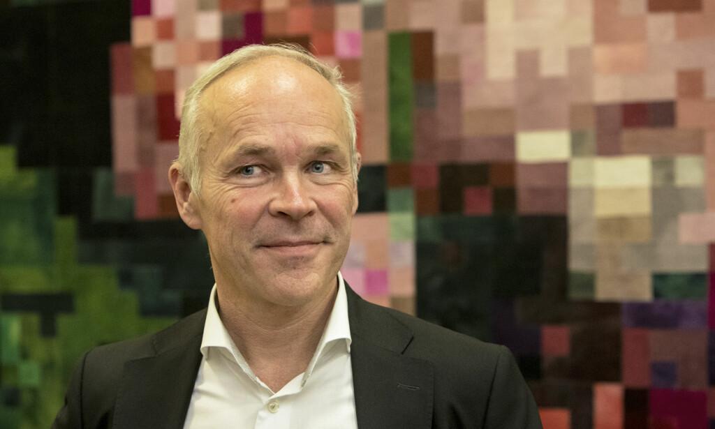 Mangler resultater: Jan Tore Sanner. Foto: Ole Berg-Rusten / NTB Scanpix