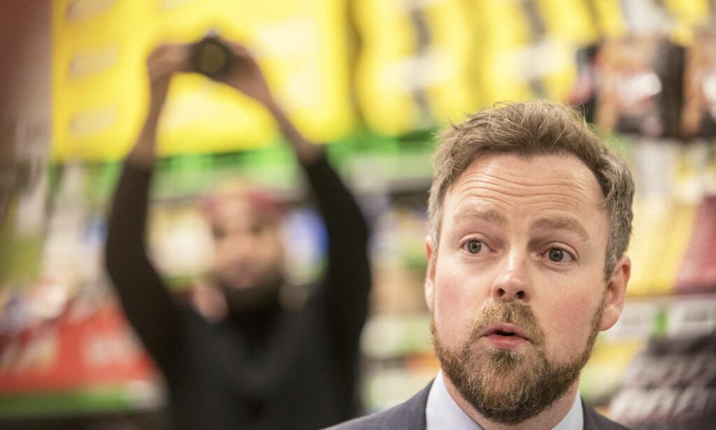 Stort nederlag: Torbjørn Røe Isaksen. Foto: Ole Berg-Rusten / NTB Scanpix