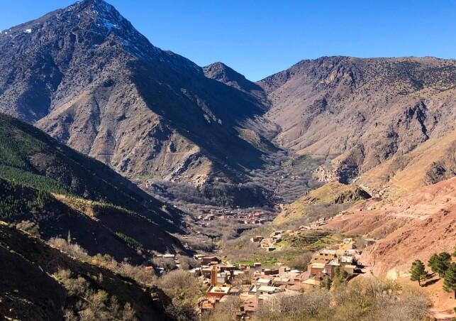 IMLIL: Landsbyen Imlil ligger 1740 meter over havet og 80 kilometer fra storbyen Marrakech.